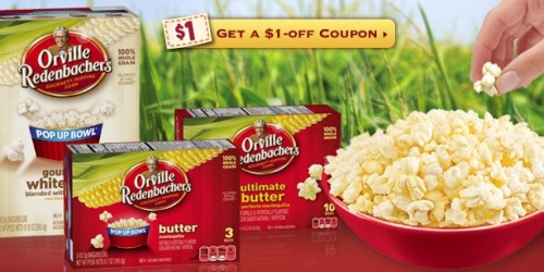 Rare $1/2 Orville Redenbacher's 3-Pack + Gourmet Popping Corn Coupon & Rite Aid Deal