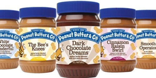 *HOT* Buy 1 Get 1 Free Peanut Butter & Co. Coupon =  Only $1.74 Each at Target