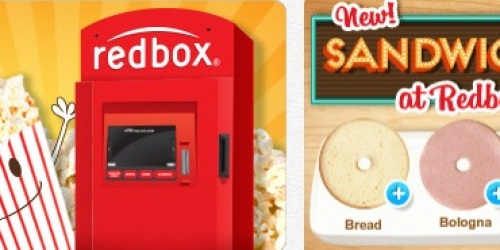 $0.50 Off A Redbox Rental (Today Only!)