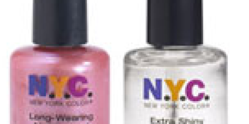 Rite Aid: NYC Nail Polish Only $0.49 Each (No Coupons Needed!)