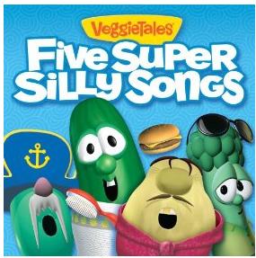 Amazon: FREE VeggieTales Five Super Silly Songs MP3 Album +