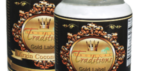 Free Shipping at Tropical Traditions + 50% Off Organic Gold Label Virgin Coconut Oil