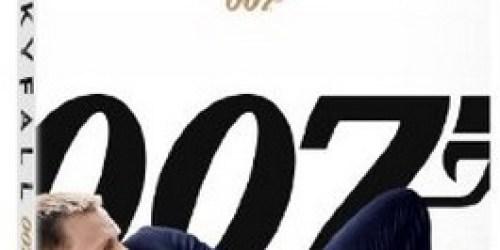 Amazon: Skyfall 007 on Blu-ray + DVD + Digital Copy Only $16.99 Shipped (reg. $39.99)