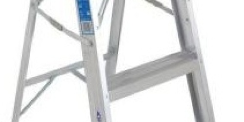 Home Depot: Werner 4-Foot Step Ladder Only $19 + FREE Shipping
