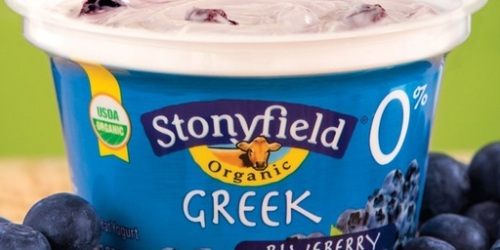 $1 Off Stonyfield Greek Yogurt Coupon When You Share with Friends (Facebook)