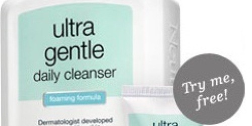 *HOT* FREE Sample of Neutrogena Ultra Gentle Daily Cleanser