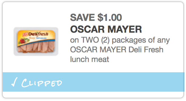 photo regarding Oscar Meyer Printable Coupons called $1/2 Oscar Mayer Deli Refreshing Lunch Meat Coupon (Reset