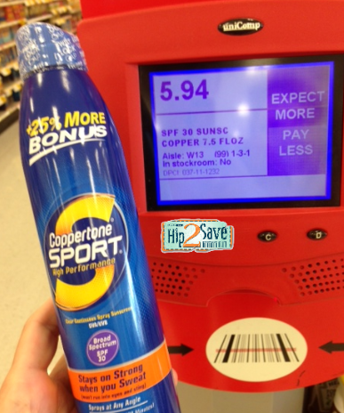 Target Coppertone Sunscreen Spray Only 2 19 Print Your