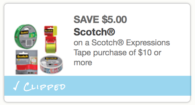 Rare 5 Off Scotch Expressions Tape Purchase Of 10 Or