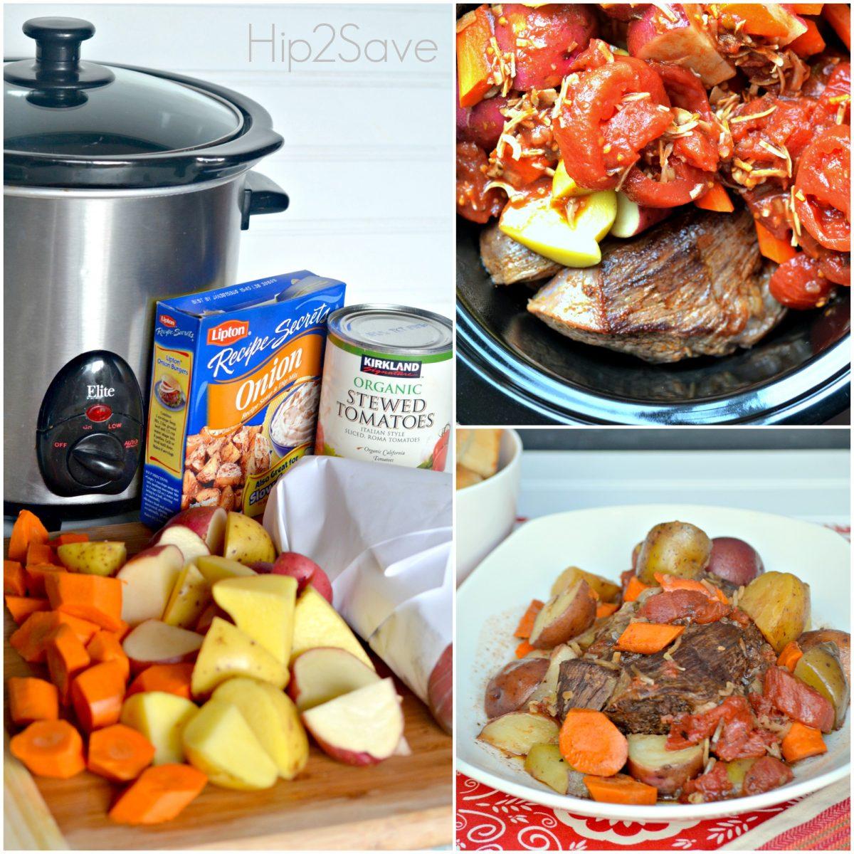 onion flavored pot roast