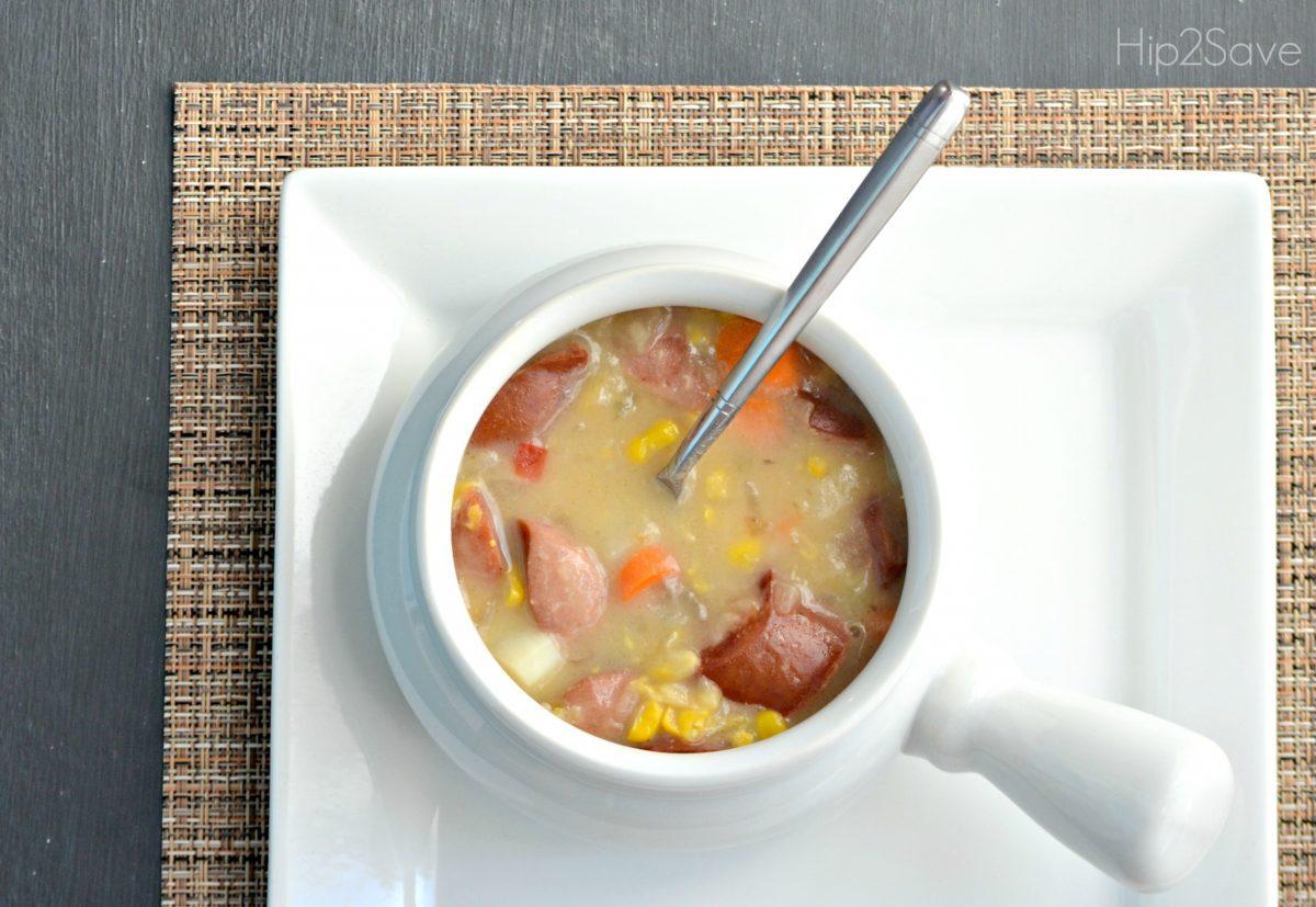 sausage corn chowder recipe