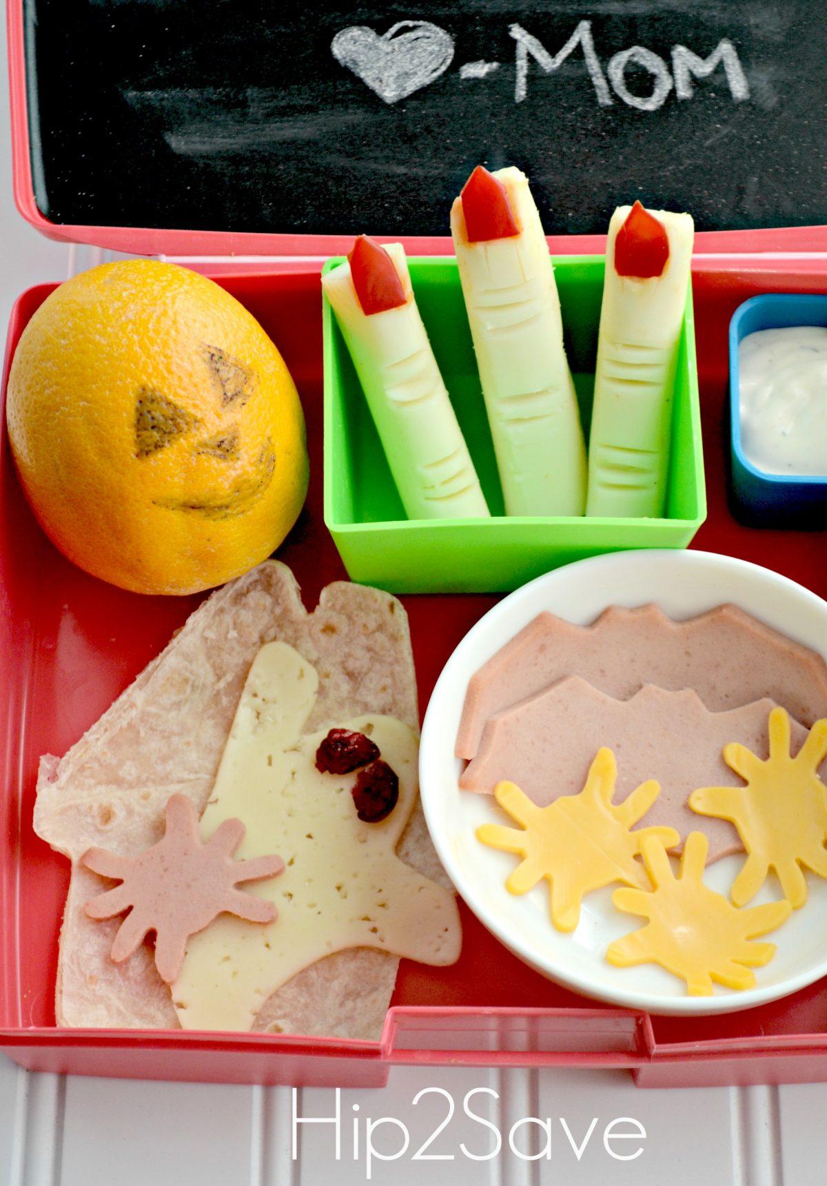 fun spooky halloween lunch for kids