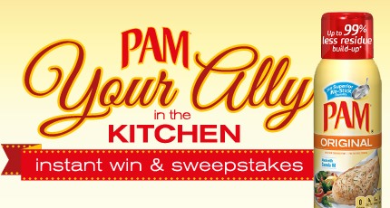 Pam Sweeps and Instant Win Game: 1,000 Win Martha Stewart