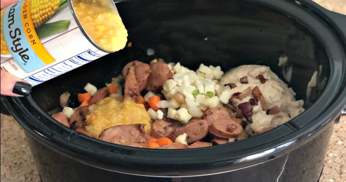 recipe for sausage corn chowder