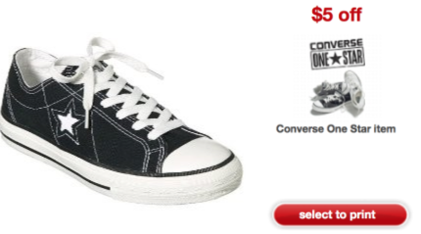 22797e021344 Target  Kids Converse Sneakers Only  0.98 ! - Hip2Save