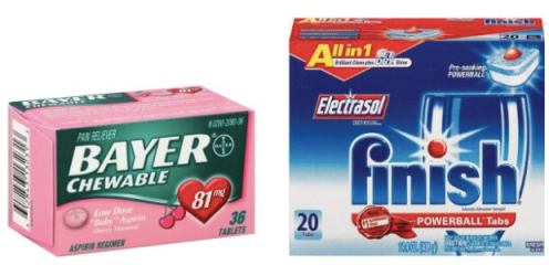 Heads Up - High Value $5/3 Bayer Products Coupon & Finish Products