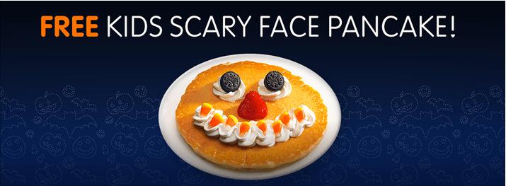 IHop Free Spooky Pancake
