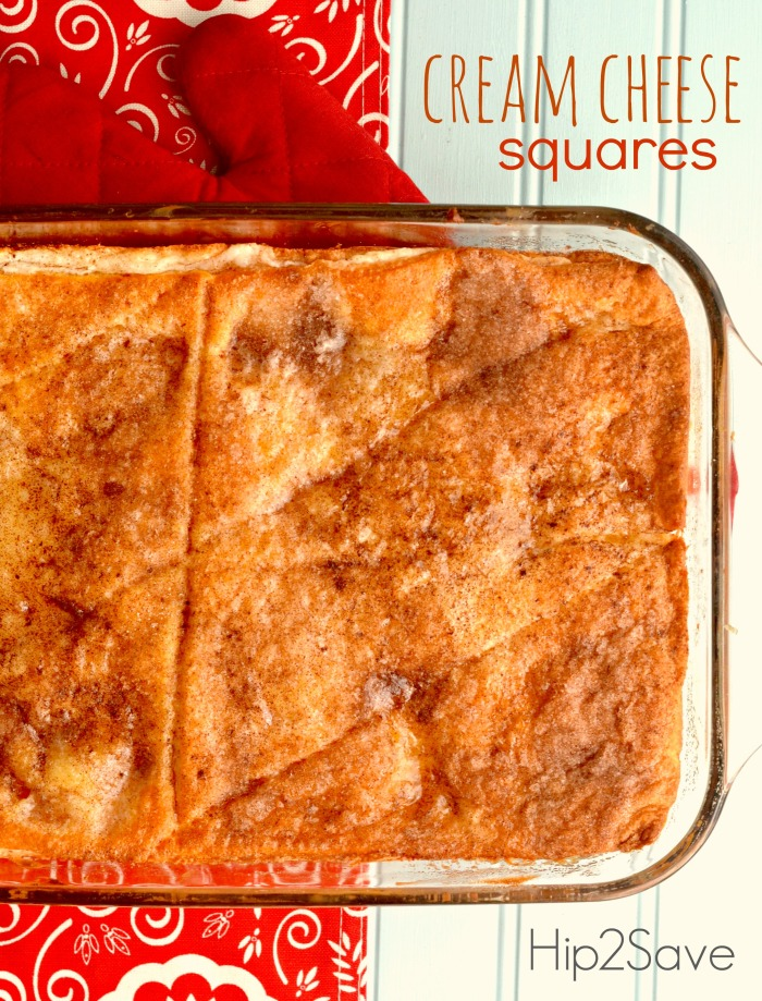 Cream Cheese Squares Recipe Hip2Save