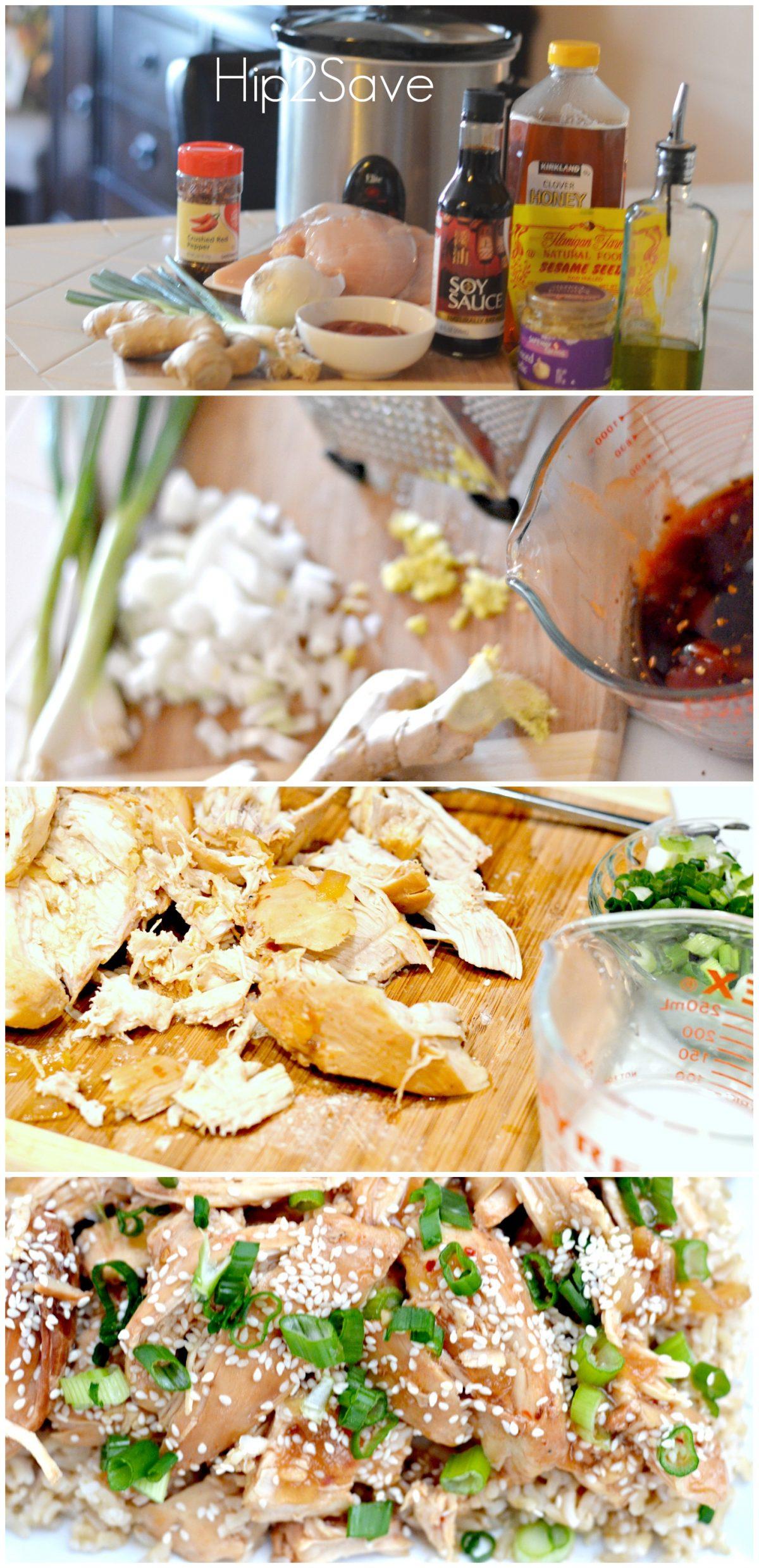 slow cooker honey sesame chicken recipe  hip2save