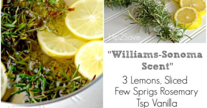 DIY Williams Sonoma Scent at home Hip2Save