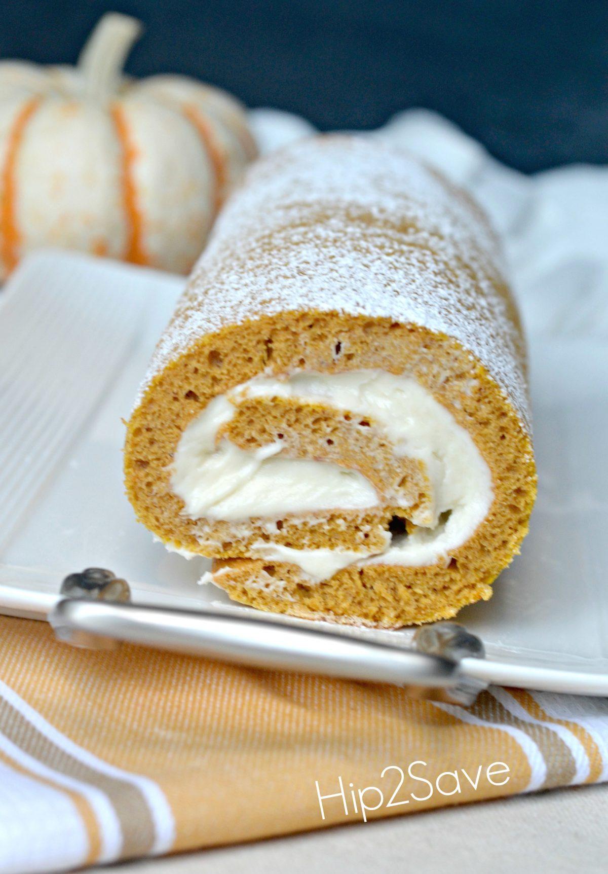 Easy pumpkin roll recipe Hip2Save