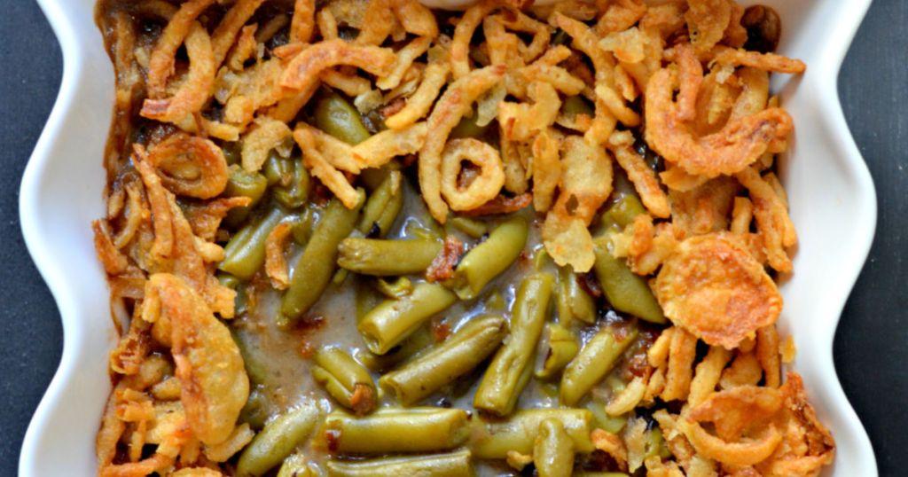 easy recipe green bean casserole