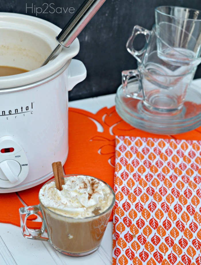 homemade pumpkin spice lattes Hip2Save