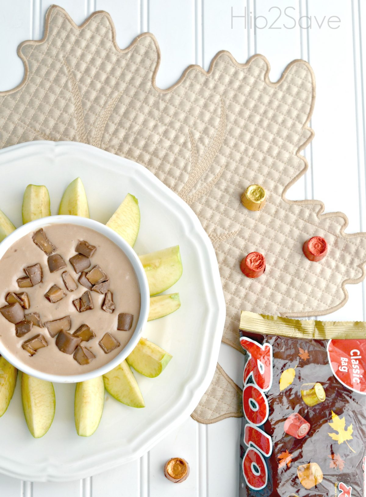 How to make Rolo Candy Dip