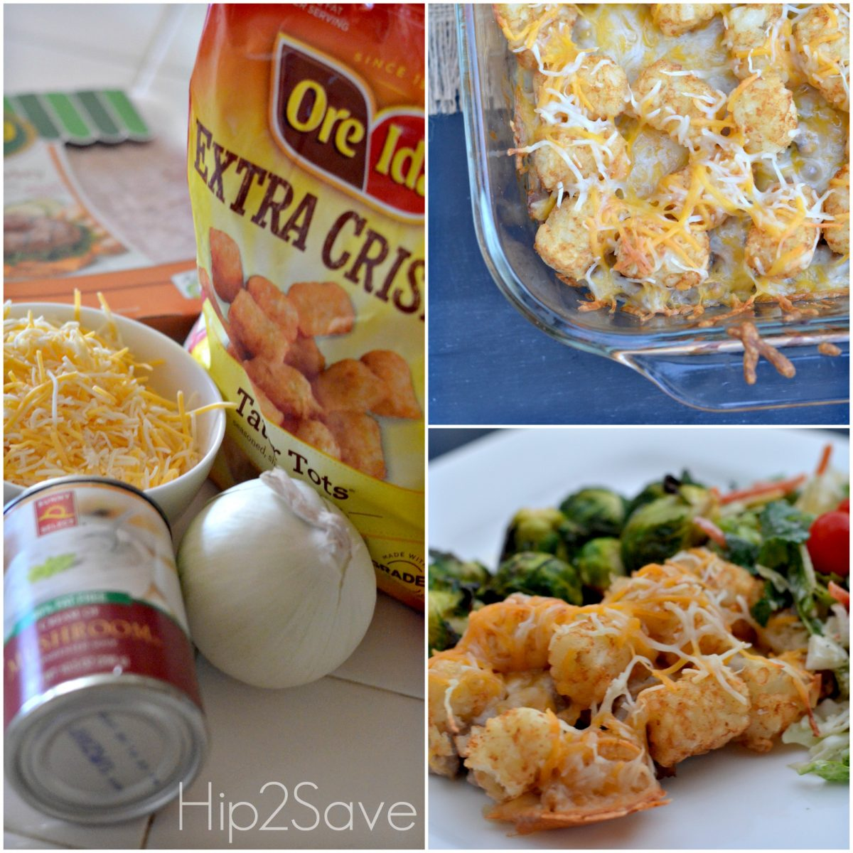 How to make tater tot casserole Hip2Save