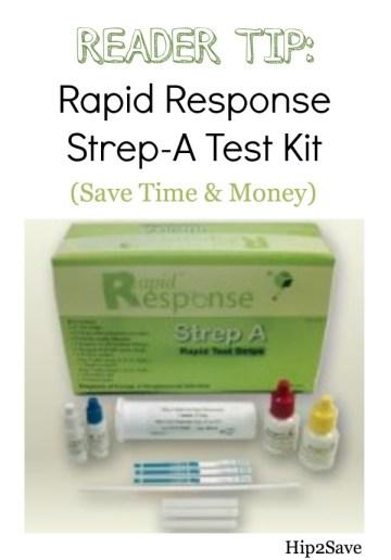 Rapid Response Strep A Test Hip2Save