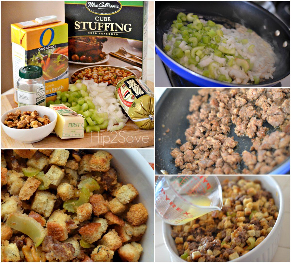 Sage Sausage Stuffing for Thanksgiving Hip2Save