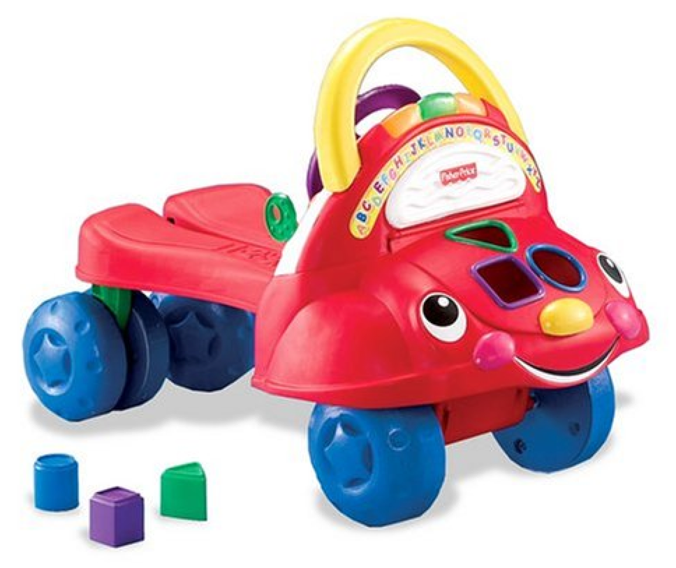 Fisher-price Laugh And Learn 3-in-1 Smart Car | Riding ...  |Fisher Price Laugh And Learn Cars