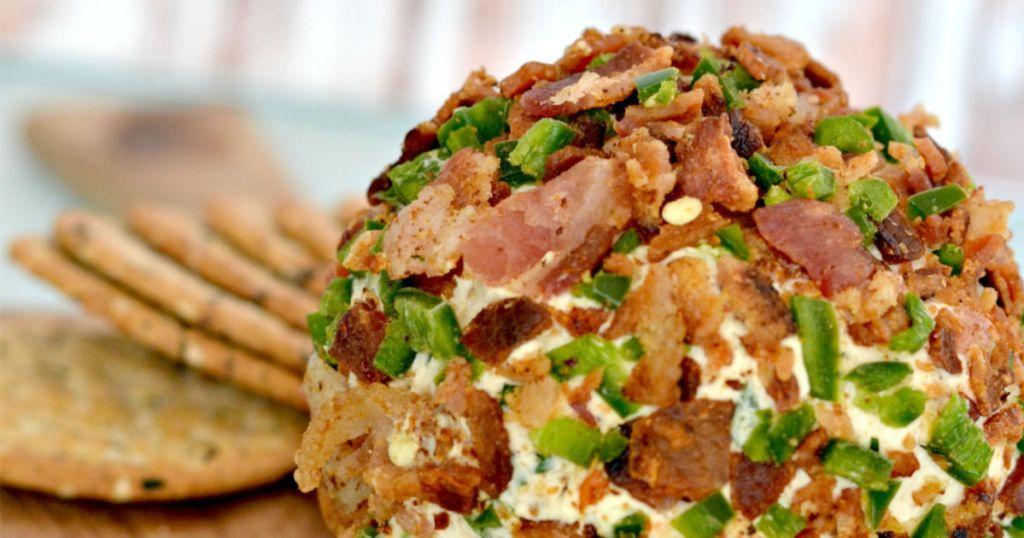 Hip2save bacon jalapeno cheese ball
