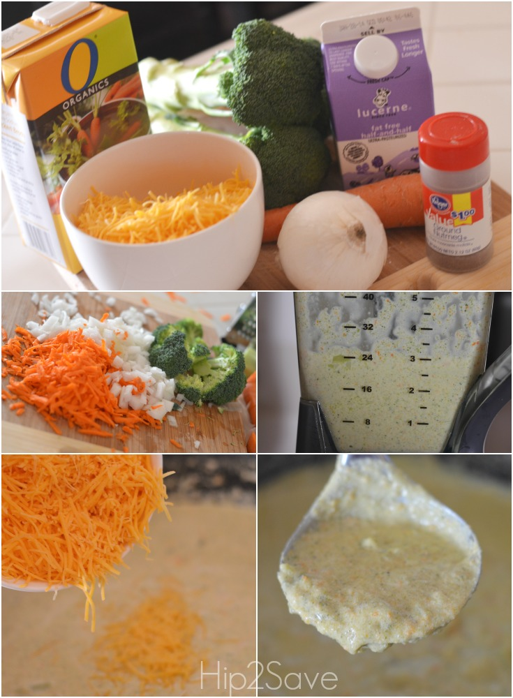 How to make broccoli cheddar soup Hip2Save