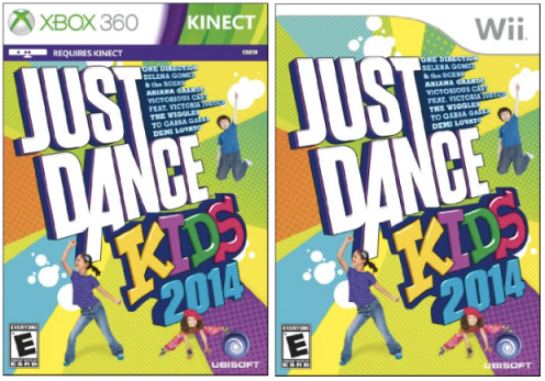 Amazon: Just Dance Kids 2014 (Wii, Xbox 360 or Wii U) Only