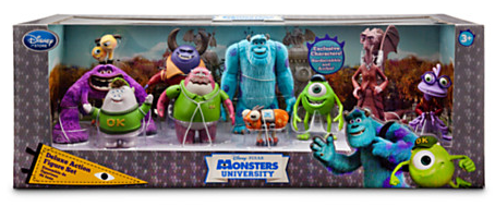 Disney Store Monsters University Deluxe Action Figure Set Only 24 99 Reg 99 Hip2save