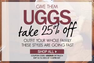 code promo site ugg