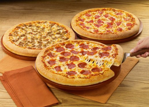 Is Pizza Hut Open On Christmas.Pizza Hut Medium 3 Topping Pizzas 5 99 Each Large 3
