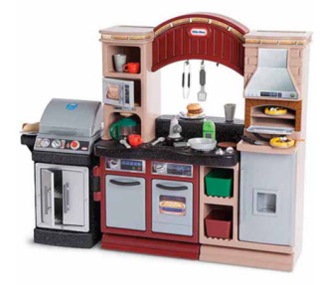 Walmart.com: Little Tikes Brick Oven Pizza Kitchen Only ...