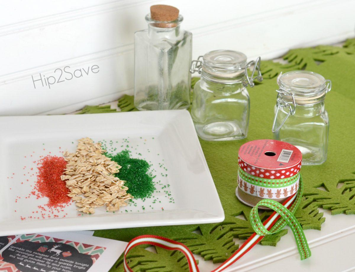 Supplies for reindeer food