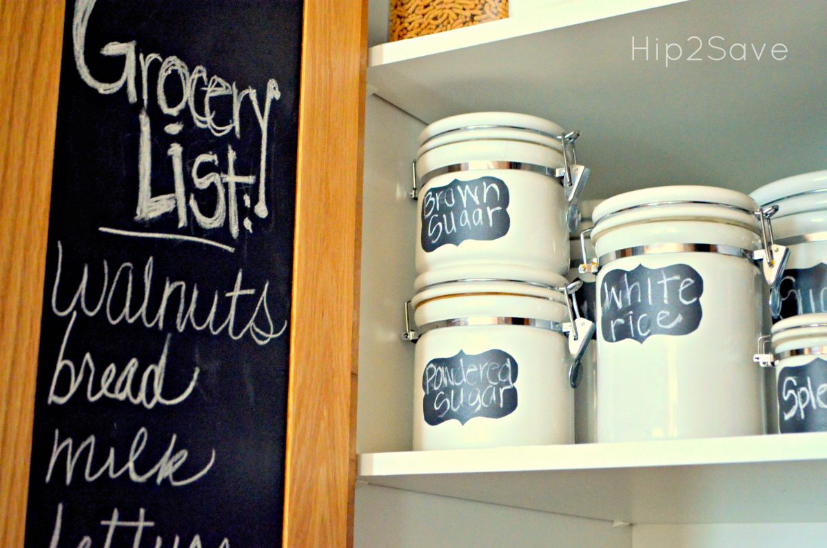 Canisters for organizing dry goods Hip2Save