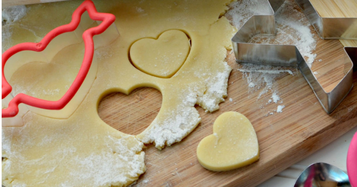 Sugar Cookie Dough For Cut Out Cookies