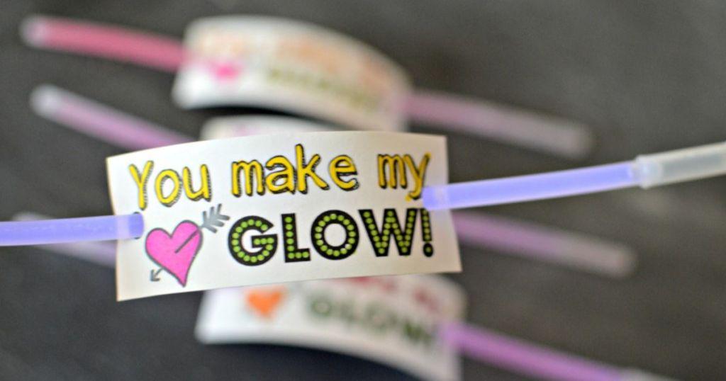 glow stick valentine's