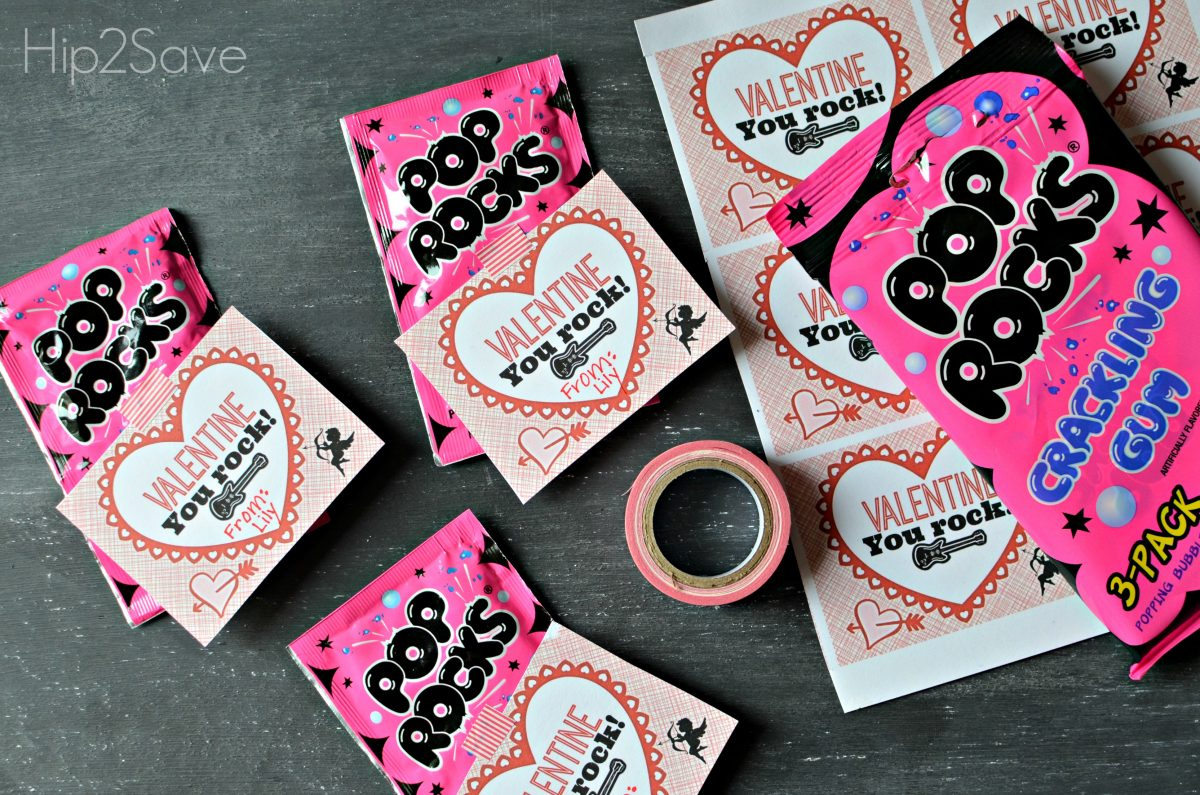 Homemade Valentine Idea Pop Rocks Printable Hip2Save