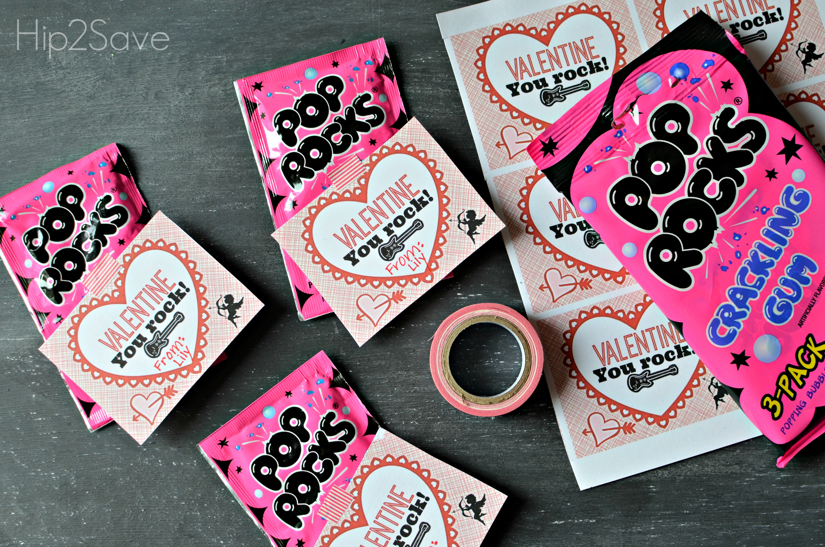 photograph relating to Pop Rocks Valentines Printable identified as Pop Rocks Valentines Working day Playing cards (+ Absolutely free Printables) - Simple