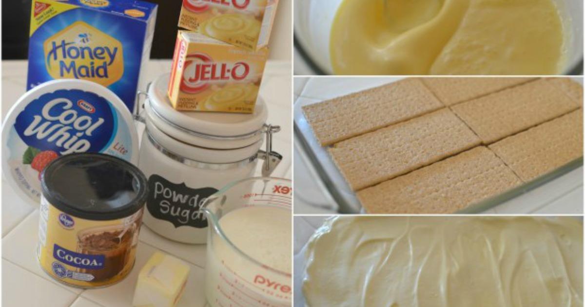 easy graham cracker eclair cake recipe – ingredients and recipe process