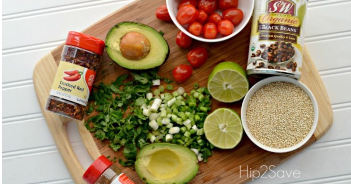 ingredients for zesty lime