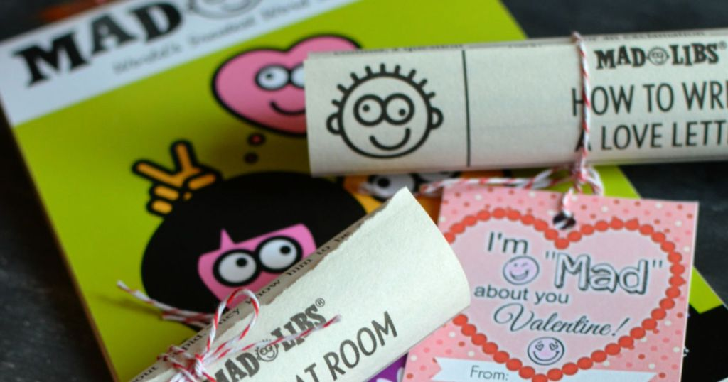 mad libs classroom valentine's