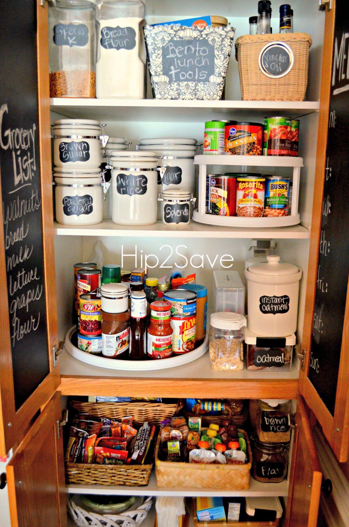 breathtaking easy kitchen organization ideas | 4 Simple Pantry Organization Tips - Hip2Save