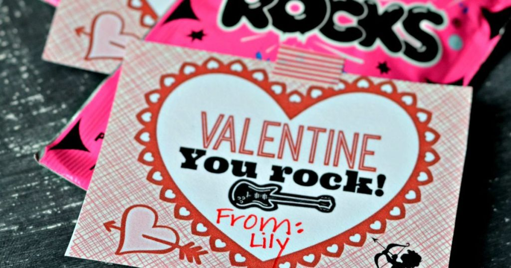 Handy image with pop rocks valentines printable